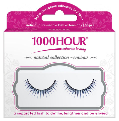 1000 Hour Strip Lashes - Natural Collection - Envious