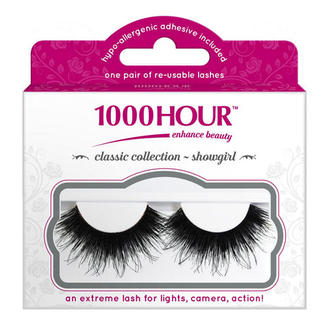 1000 Hour Strip Lashes Classic Collection - Showgirl