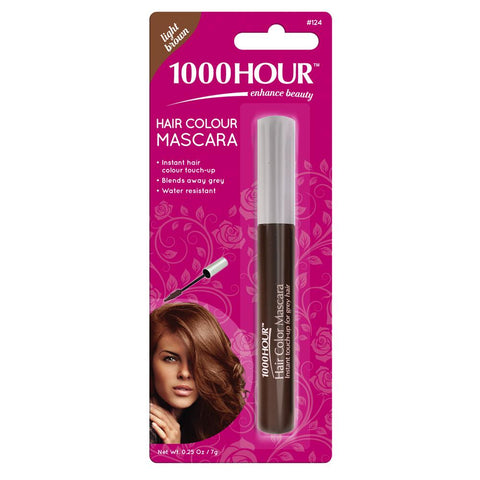 1000 Hour Hair Colour Mascara - Light Brown