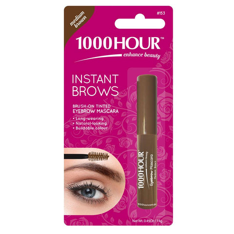 1000 Hour Instant Brows - Medium Brown