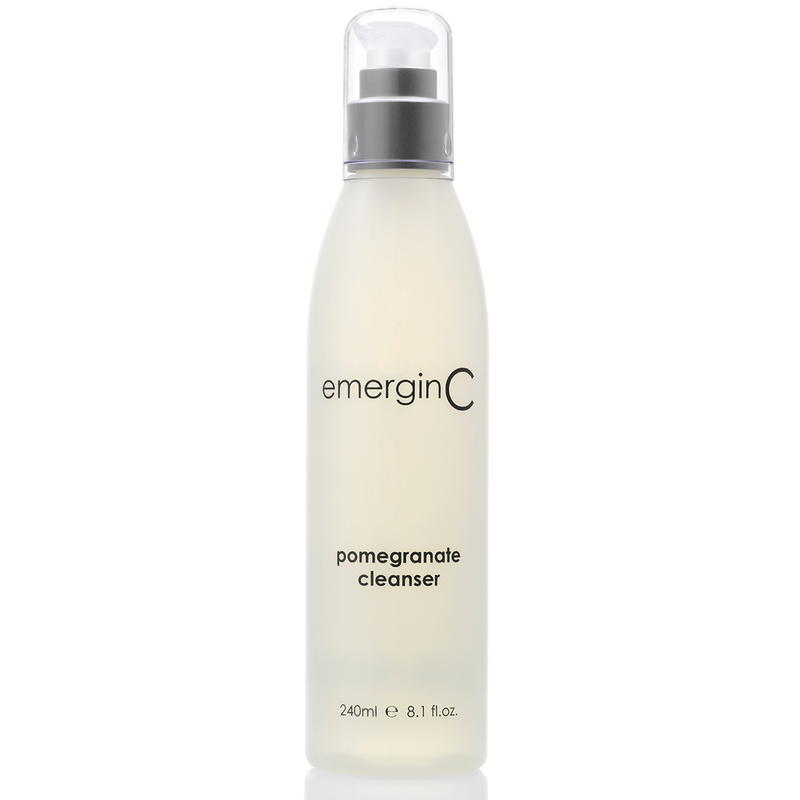 EmerginC pomegrante cleanser. shop EmerginC online