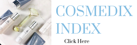 cosmedix skincare products index and guide