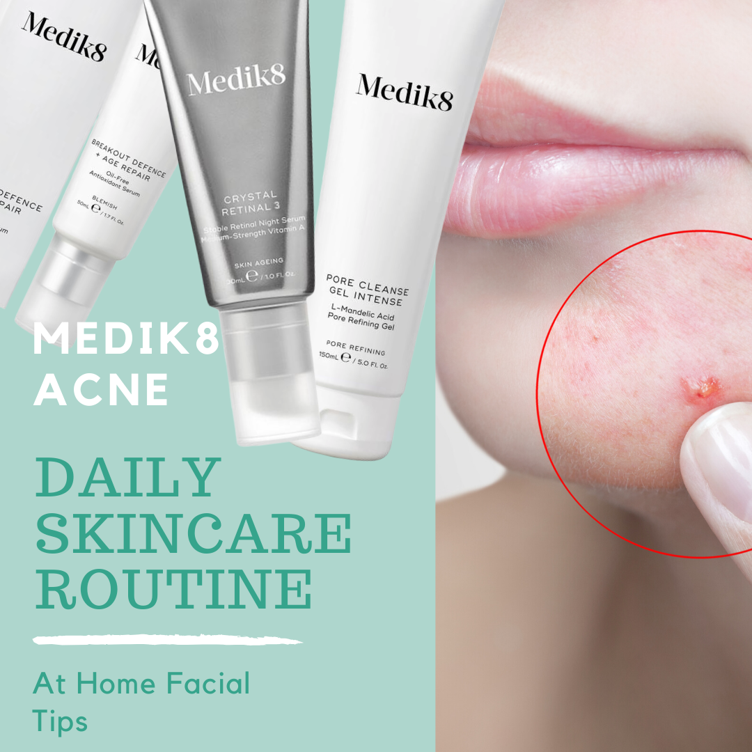 medik8 skincare for acne
