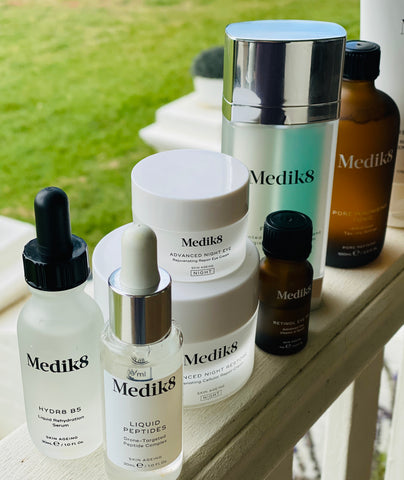 medik8 skincare for night