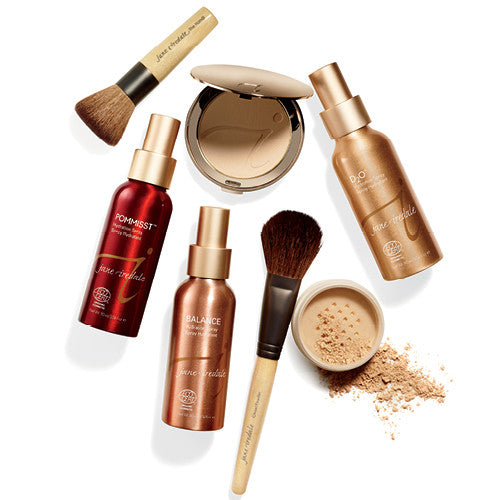 jane iredale. The skin care make up