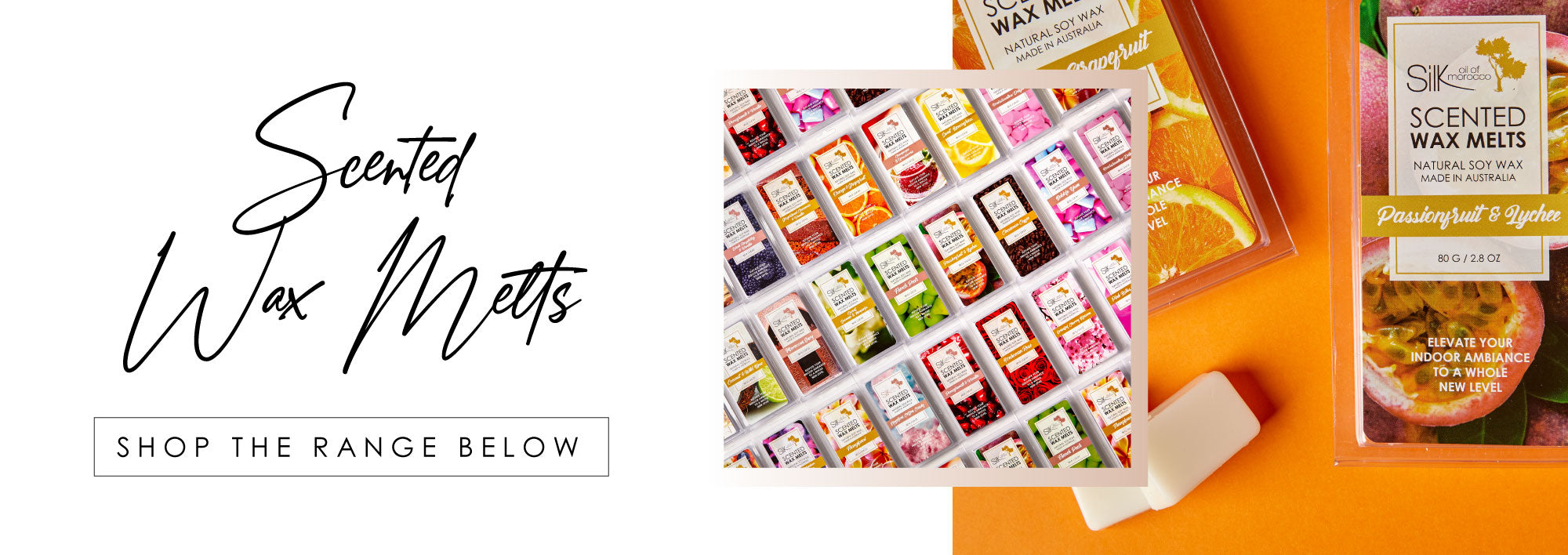 Silk Oil of Morocco Scented Wax Melts