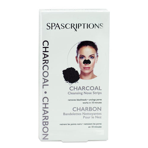 spascriptions charcoal cleansing nose stips