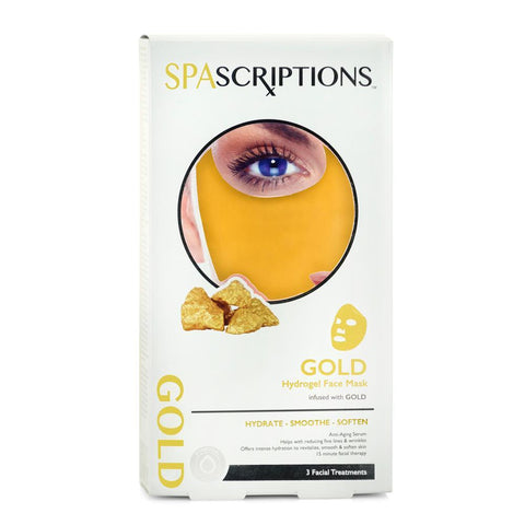 Spascriptions hydrogel Mask - Gold