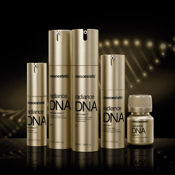 Mesoestetics DNA skincare products