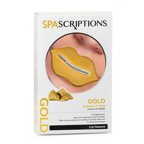 Spascriptions Hydrogel Lip Mask - Gold