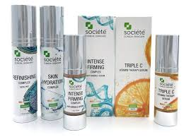 societe skincare products. societe triple c. sosciete intense firming serum