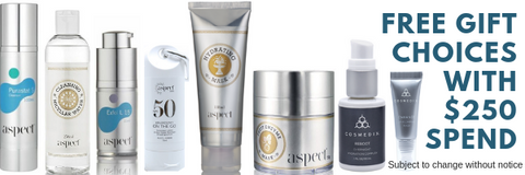 cosmedix products free gifts