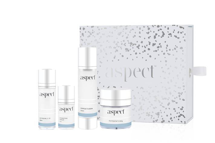 aspect skin essential kit. aspect xmas pack