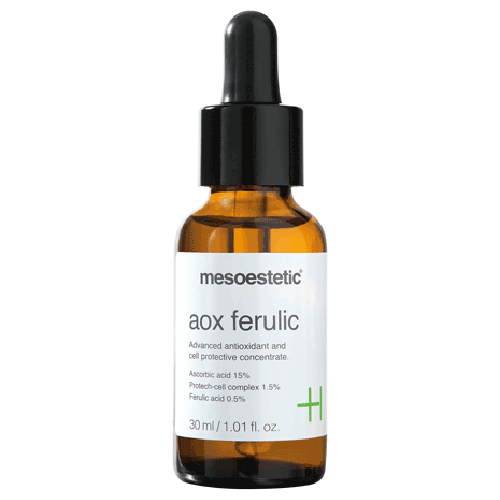 mesoestetic AOX Ferulic. mesoestetic products at tina kay skincare