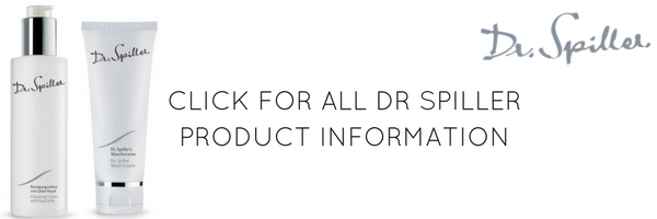 DR SPILLER SKINCARE PRODUCTS INFORMATION