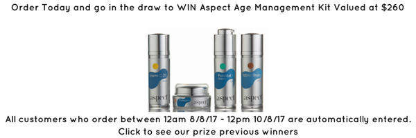 win aspect age management kit at tina kay skincare