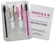 1000 Hour lash and brow dye 1000 hour Brush In Lash & Brow Dye Kit - Black