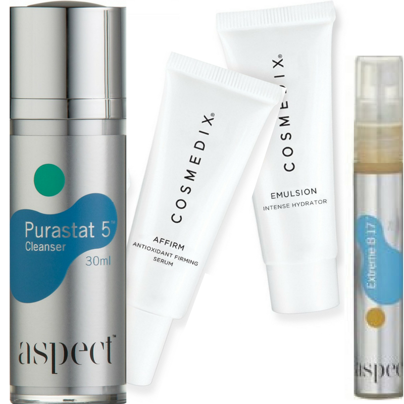 aspect Aspect and CosMedix Firm and Hydrate Kit