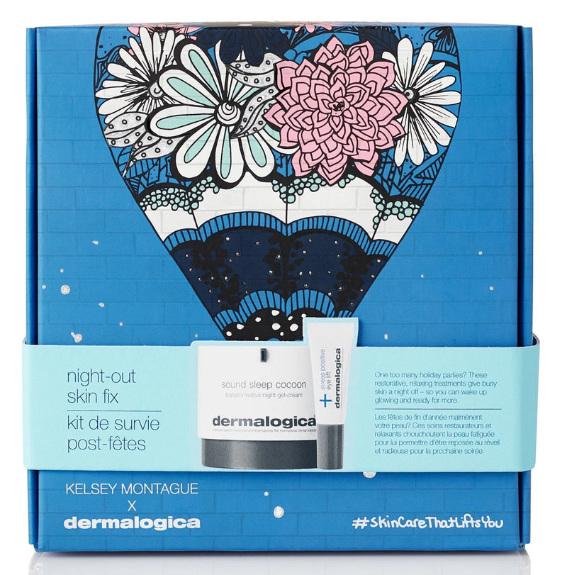 Dermalogica kits and packs Dermalogica x Kelsey Montague Night-Out Skin Fix