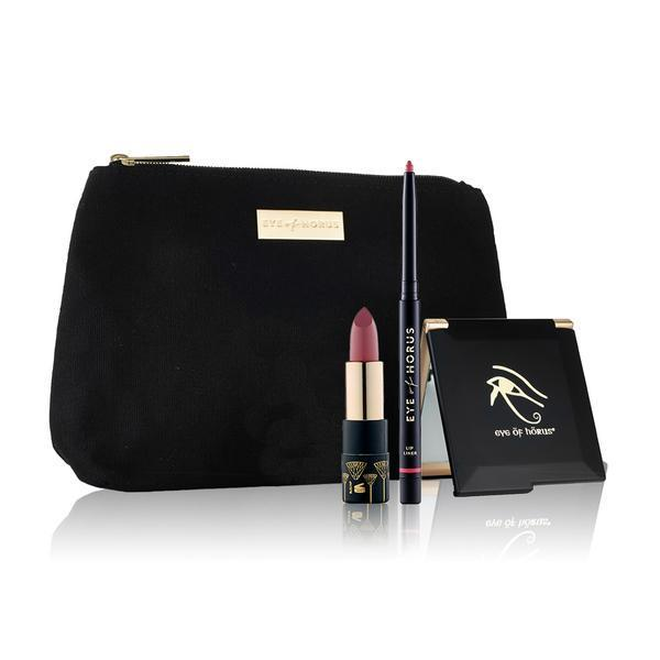 eye of horus lip duo pack Sacred Hibiscus Liner + Venus Pink Lipstick Eye Of Horus Lip Duo Packs - 4 Shades