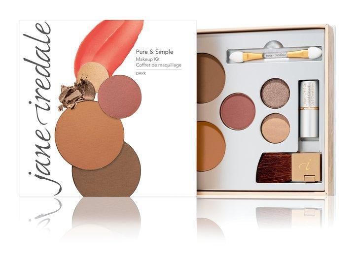 jane iredale Mineral Make Up Dark - Warm Brown Jane Iredale Pure And Simple Makeup Kit