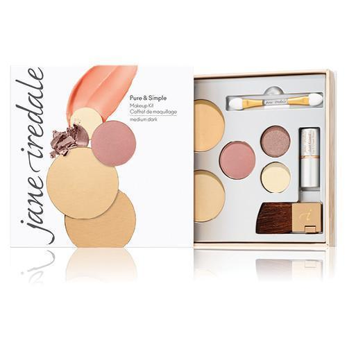 jane iredale Mineral Make Up Medium Dark - latte Jane Iredale Pure And Simple Makeup Kit