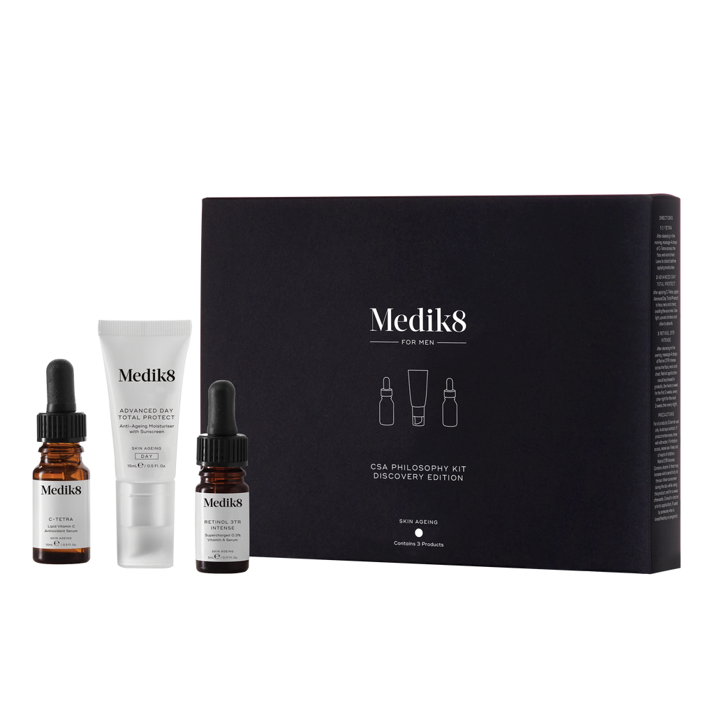 medik8 kit Medik8 CSA Philosophy Discovery Kit For Men