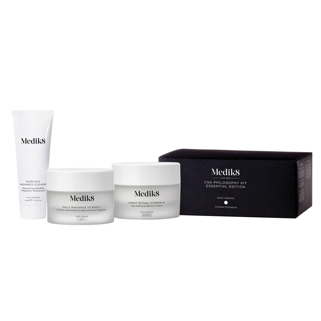 medik8 skincare kit Medik8 The Essential CSA Kit For Men