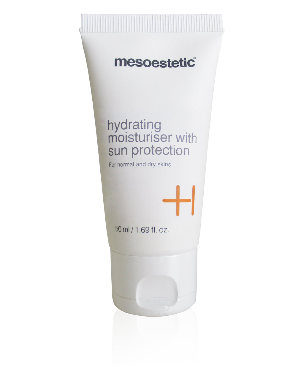 Mesoestetic sunscreen Mesoestetic Hydrating Moisturiser With Sun Protection 50ml - Now Replaced With Mesoestetic Mesoprotech Melan 130 Pigment Control SPF 50+
