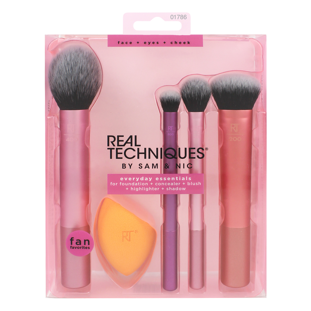 Real techniques make up brushes Real Techniques Everyday Essentials Set