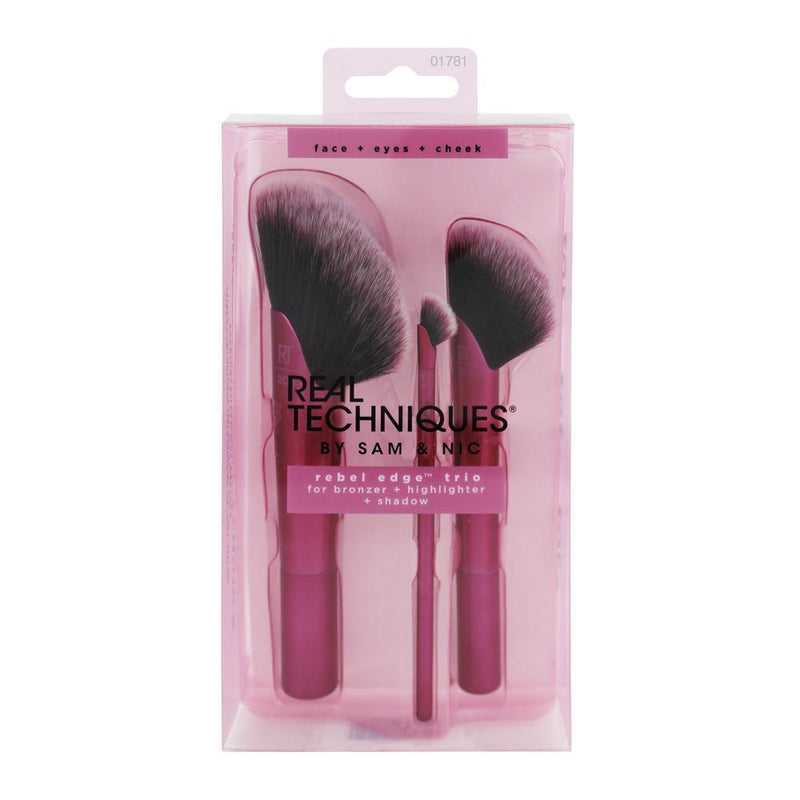 Real techniques make up brushes Real Techniques Rebel Edge Trio Set