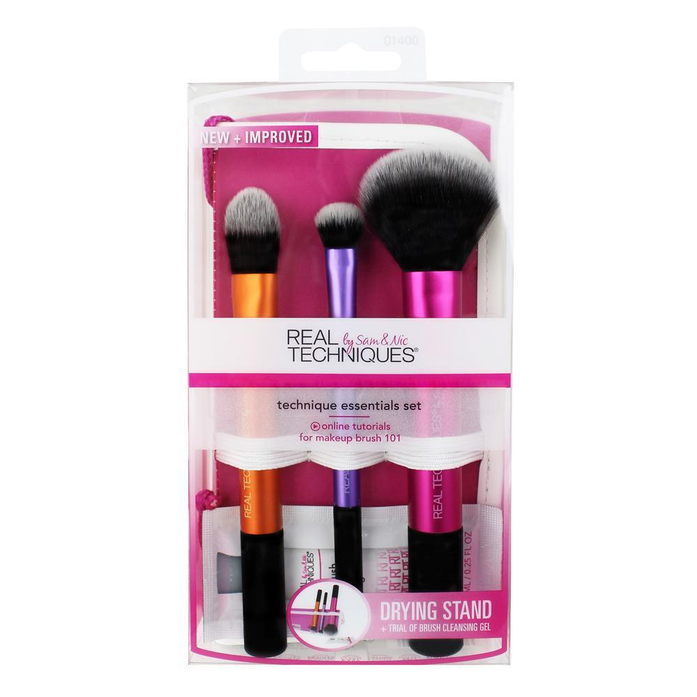 Real techniques make up brushes Real Techniques - Technique Essentials Set