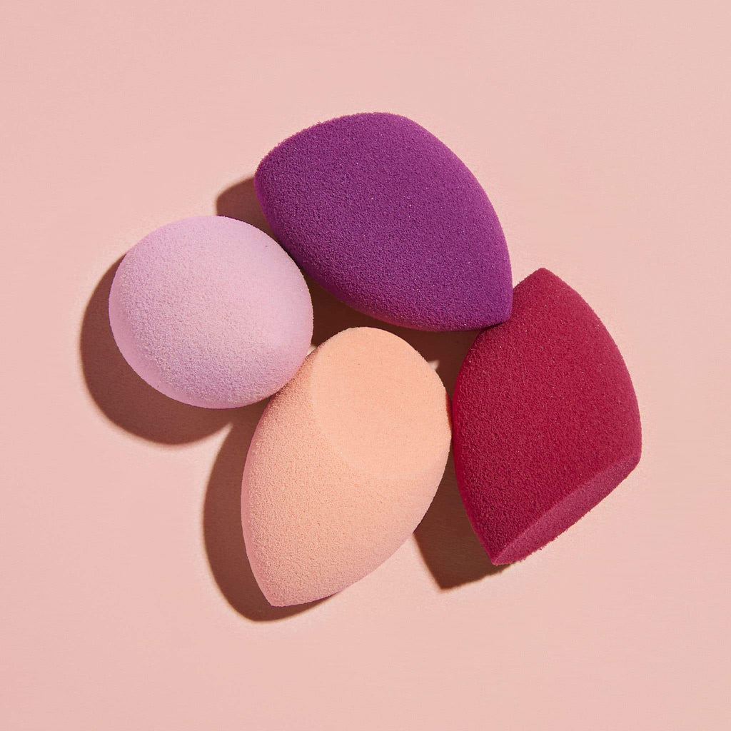 Real techniques makeup sponges Real Techniques 4 Mini miracle complexion sponges