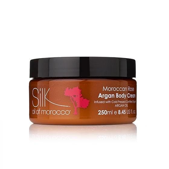 Silk Oil of Morocco body cream Argan Body Cream - Moroccan Rose 250ml Silk Oil of Morocco Argan Body Cream