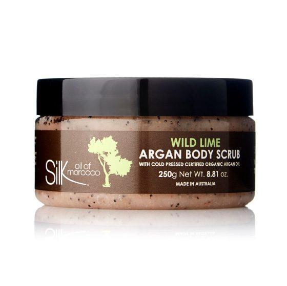 Silk Oil of Morocco body scrub Wild Lime Silk Oil Of Morocco Argan Body Scrub