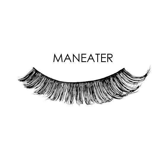 Silk Oil of Morocco False Lashes -Maneater