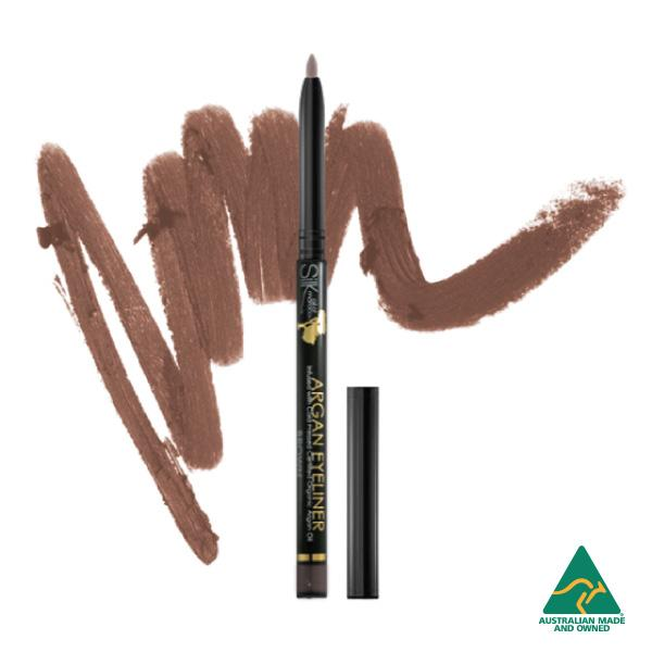 Silk Oil of Morocco Eyeliner Silk Oil of Moroccos Argan Vegan Eyeliner Crayon - Brown