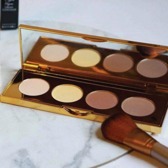Silk Oil of Morocco highlight palette Silk Oil of Morocco Argan Vegan Contour & Highlight Palette
