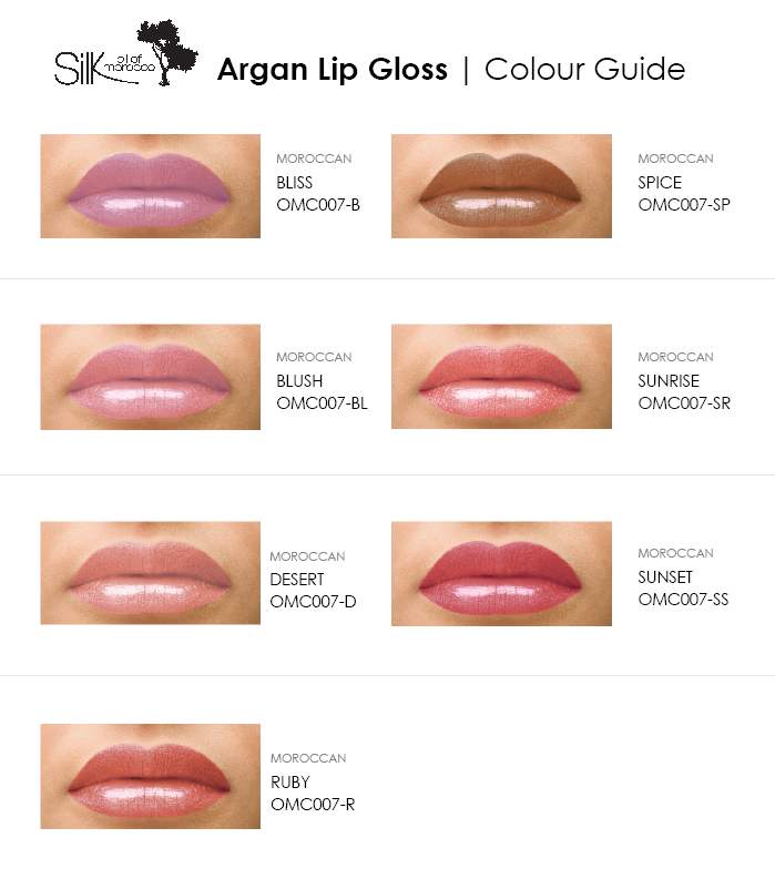 Silk Oil of Morocco lip gloss Silk Oil of Morocco - Argan Oil Lip Gloss
