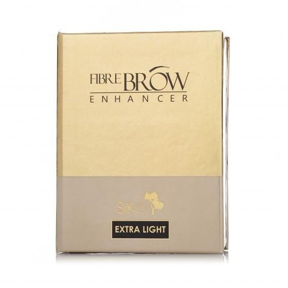 Silk Oil Of Morocco Vegan Fibre Brow Enhancer Kit extra light