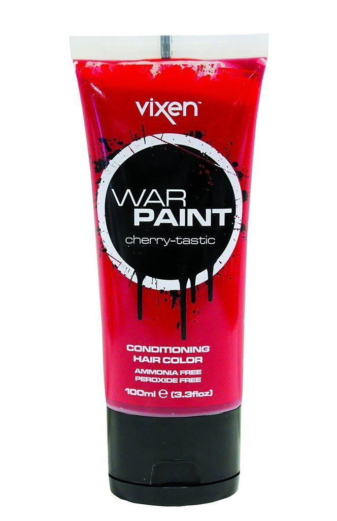 Vixen hair colour Cherry-tastic Vixen War Paint Conditioning Hair Colour