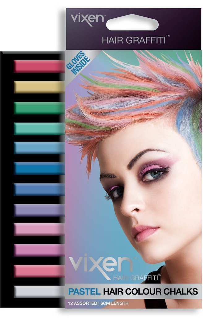 Vixen hair colour Pastel Vixen Hair Graffiti  Hair Colour Chalk