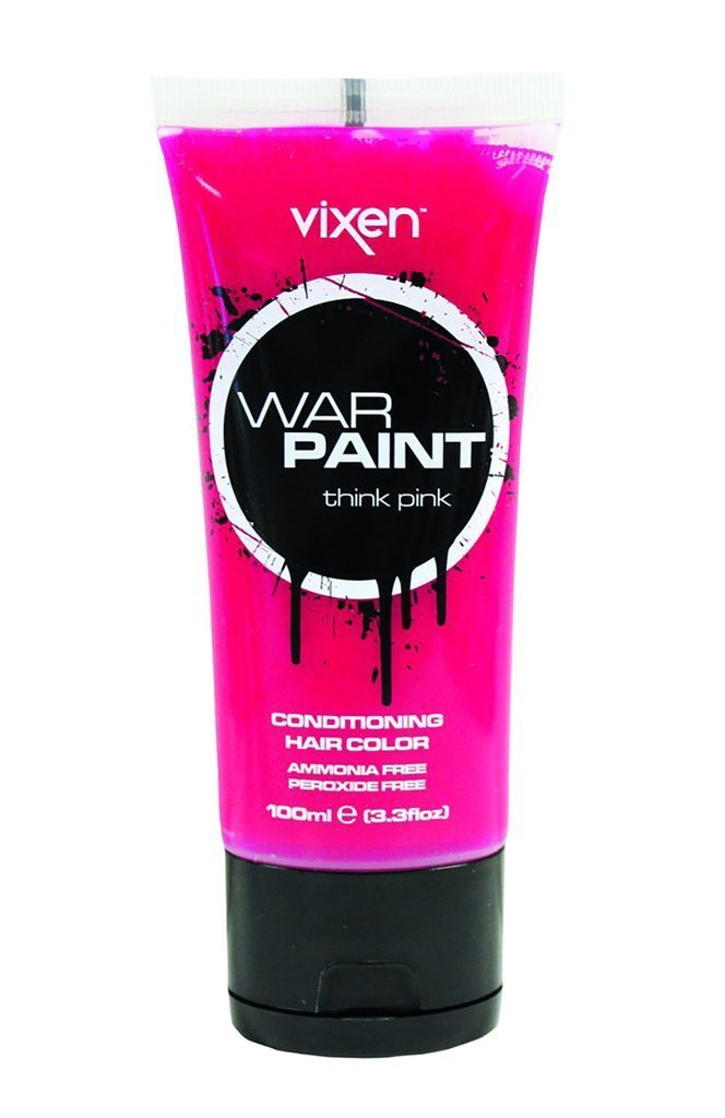 Vixen hair colour think pink Vixen War Paint Conditioning Hair Colour