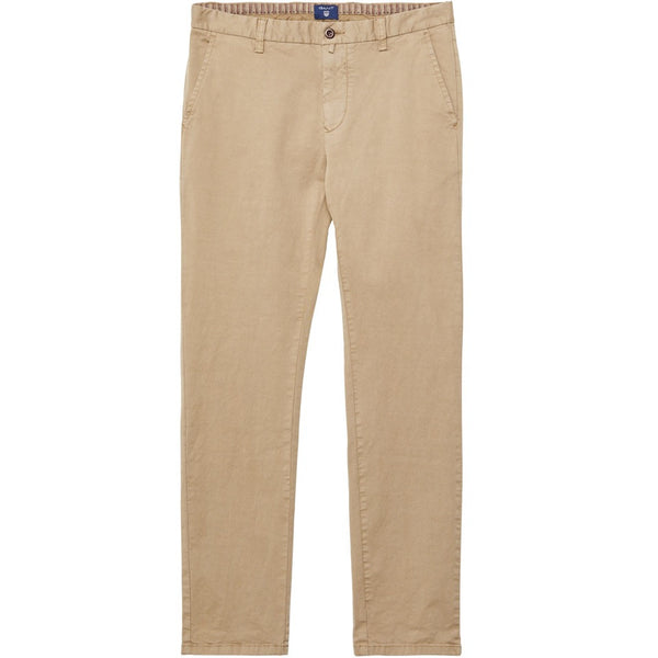 GANT Slim Broken In Chino Khaki, Pants, Gant, - V Collection