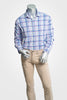 Peter Millar Ides Performance Multi-Plaid Sport Shirt