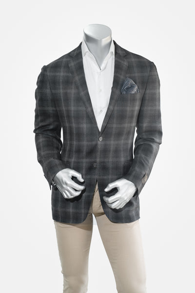 H by Hickey Charcoal Sports Coat