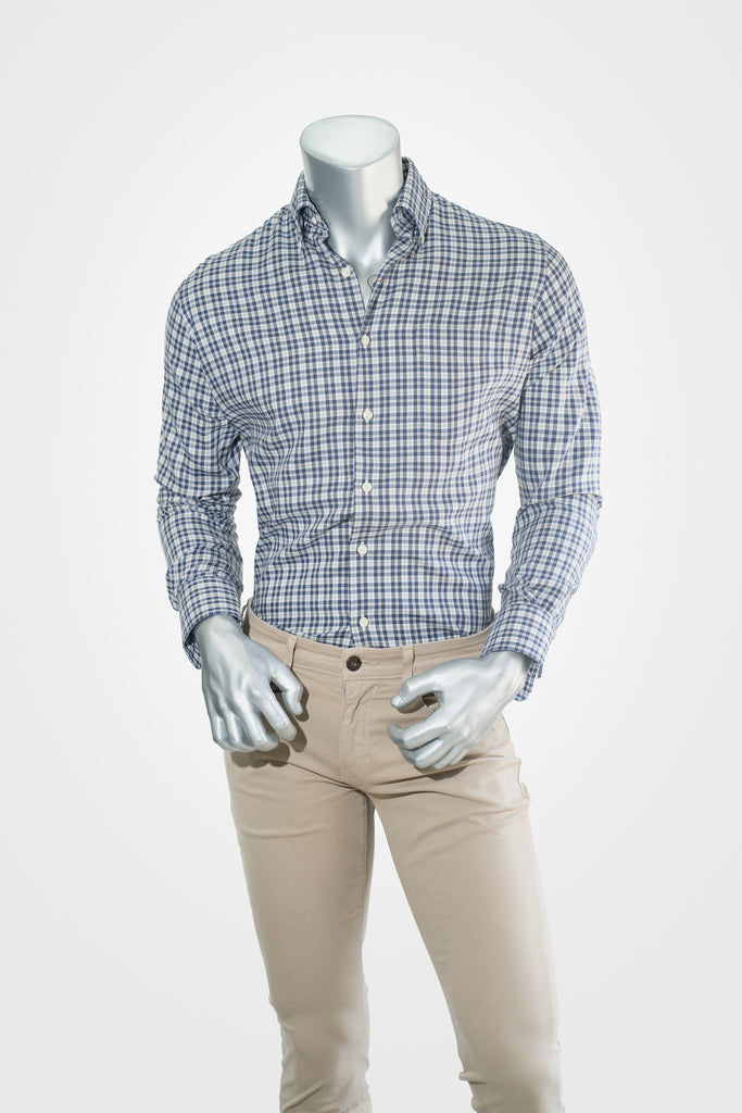 Peter Millar Blue Button Down
