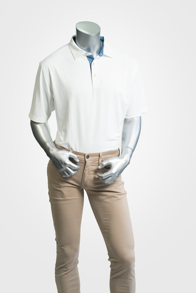 Peter Millar White Polo