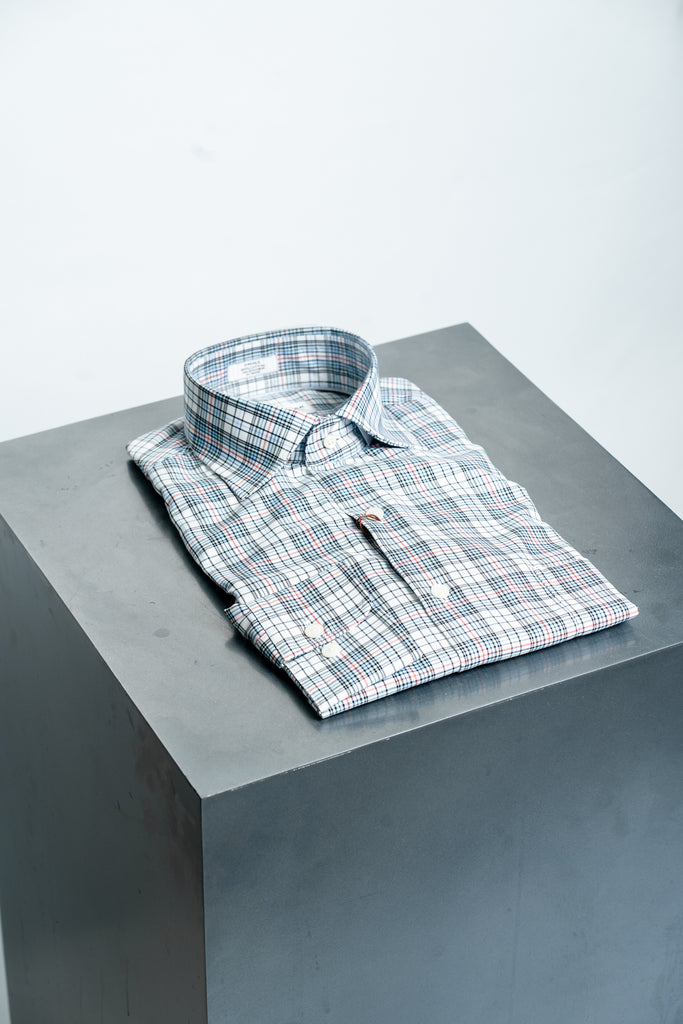 Peter Millar Plaid Sport Shirt