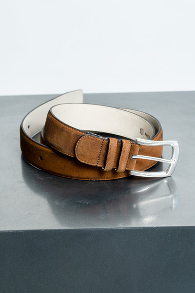 Mezlan Brown Belt